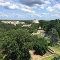 Chichen-Iza-Mayan-Ruins-Visit-of-Aurelie-and-her-kids-Family-trip