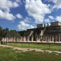 Yucatan-Aurelie-Familiy-trip-Chichen-Iza,-uxmal-3