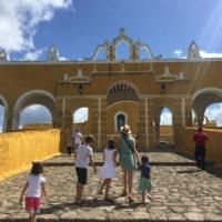 Yucatan-Aurelie-Familiy-trip-Chichen-Iza,-uxmal-4