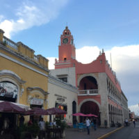 Yucatan-Aurelie-Familiy-trip-Chichen-Iza,-uxmal-5