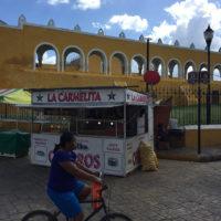 Yucatan-Aurelie-Familiy-trip-Chichen-Iza,-uxmal-6