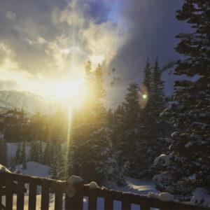 Alexis ski trip to Alta, Utah, US