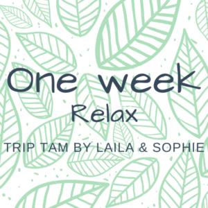 One week break - Relax